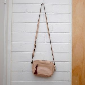 J. Crew Signet Bag in Blush
